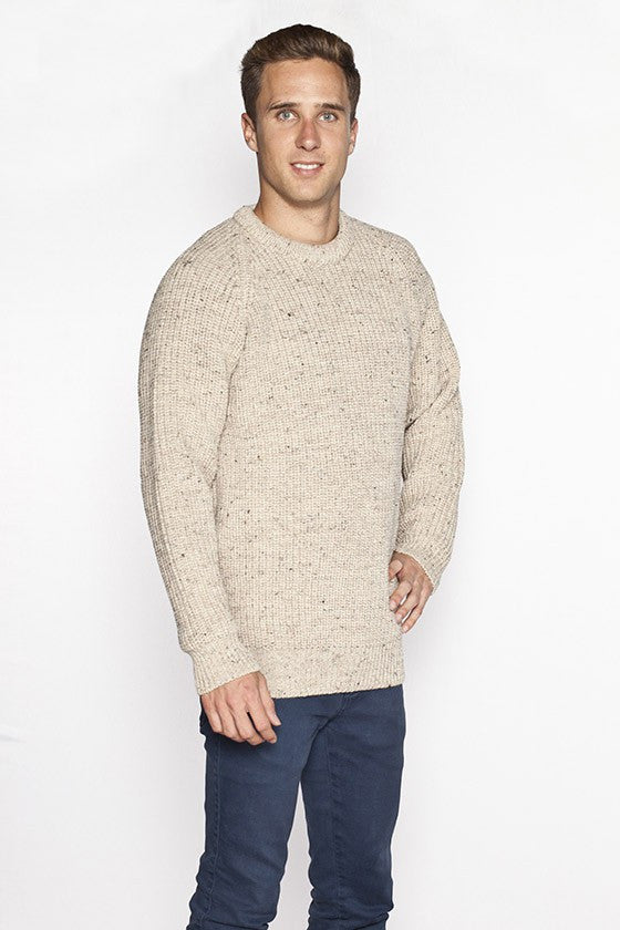 Ribbed Irish Fishermans Sweater