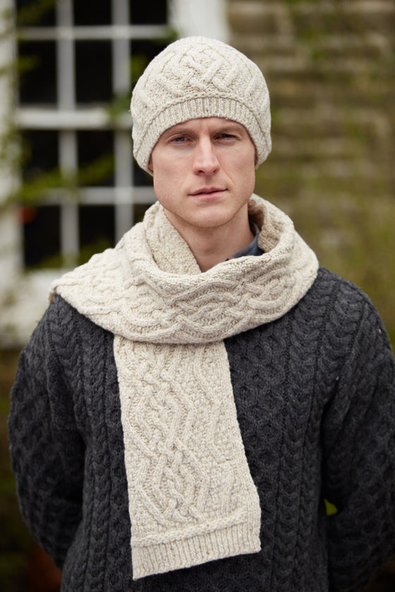 Nua Men's Scarf - Natural