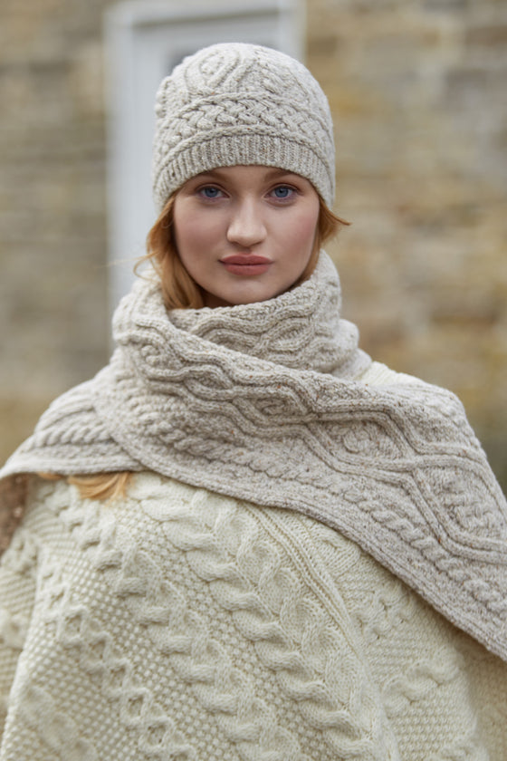 Nua Womens Scarf - Natural