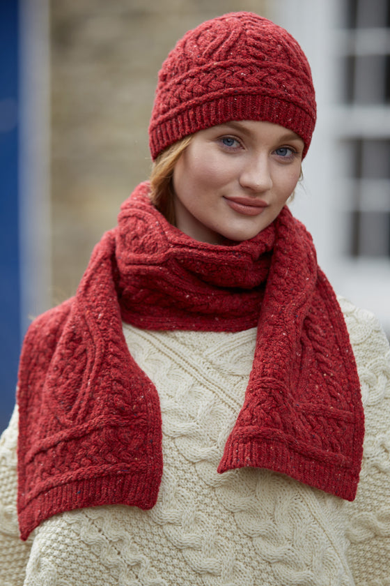 Nua Womens Scarf - Red