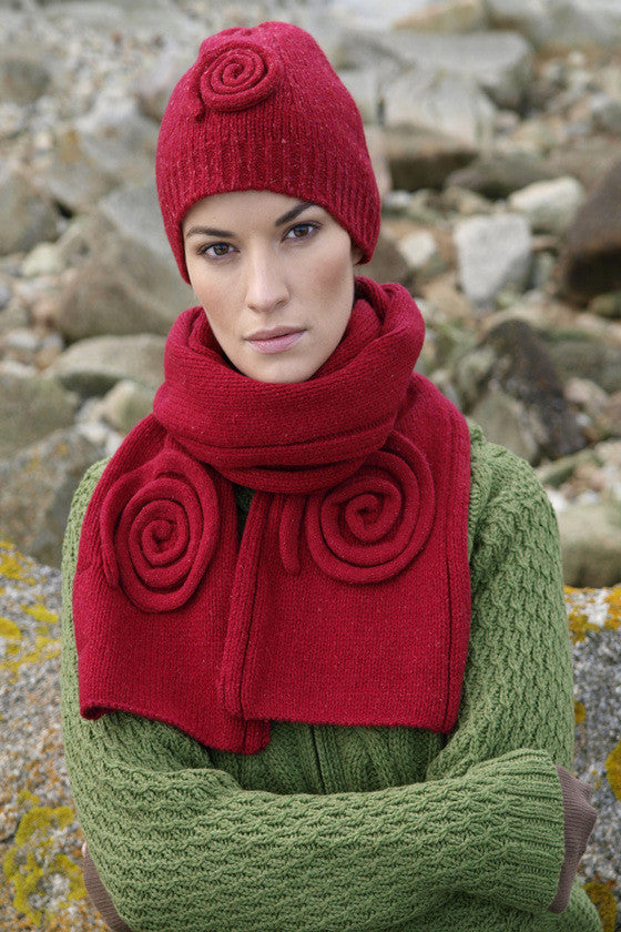 Celtic Wool Scarf