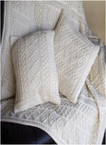 Aran Plated Cushion Cover