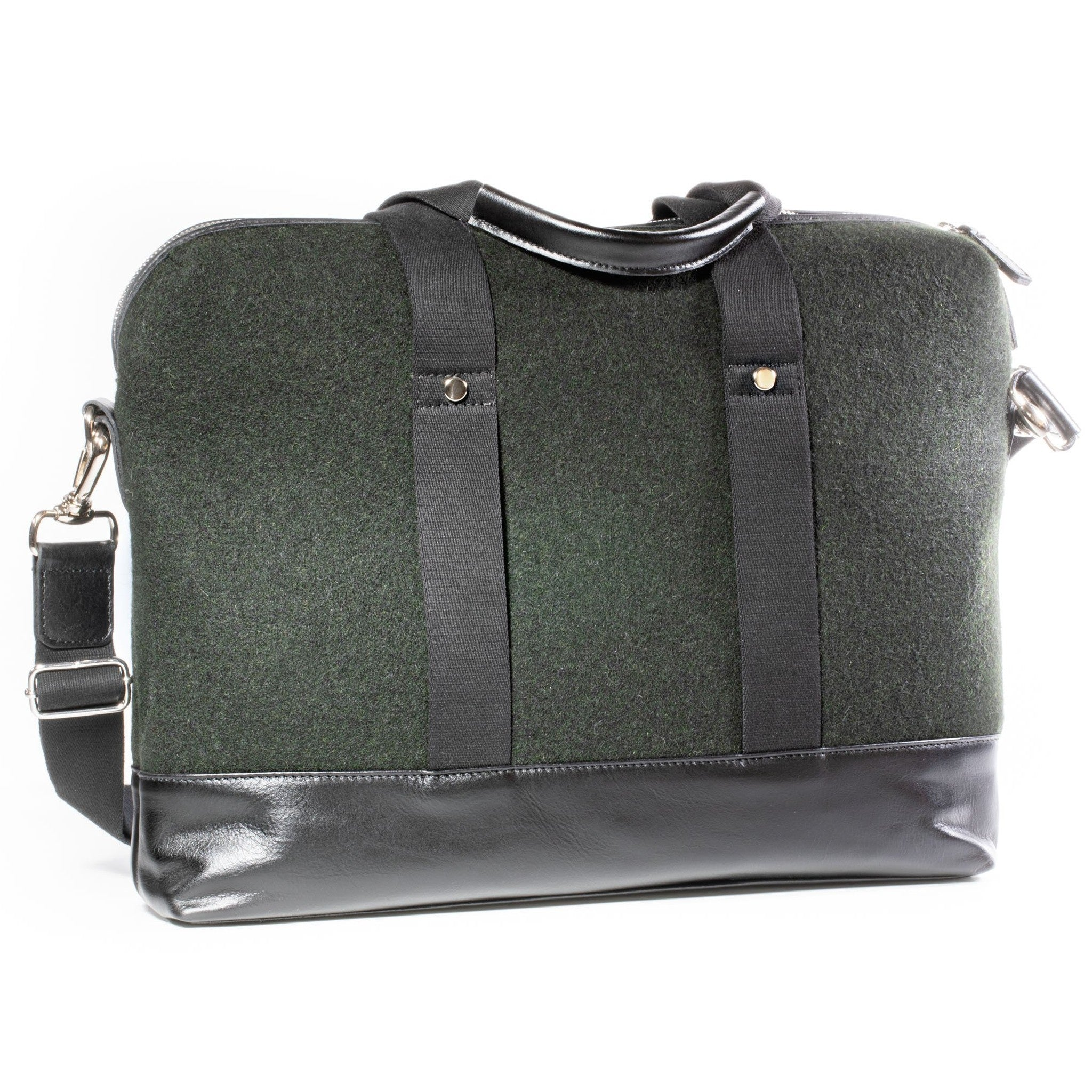 Messenger bag darkgreen-black