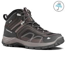 Decathlon Quechua Forclaz Waterproof High Ankle Mountain Snow Hiking shoe for Hire in Chennai
