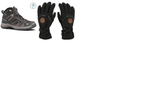 Quechua Waterproof Snow trekking Shoe and Waterproof Gloves on Rent
