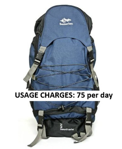 RENT 60 litres Trekking bag | Free home delivery