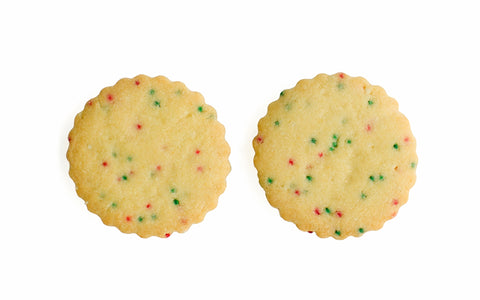 Sprinkle Shortbread Cookies