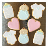 Blue Baby Cookie Set
