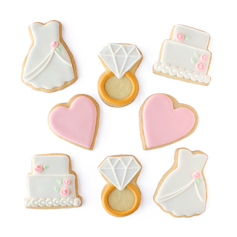 Bridal Cookie Set