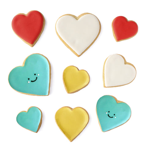 Smiley Heart Cookie Set