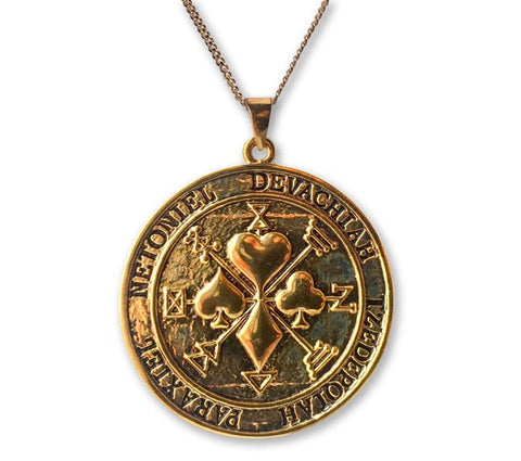 Gold Talisman of Supreme Chances