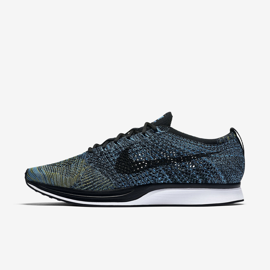check out caf09 53700 ... where to buy saints sg nike flyknit racer crew blue lateral 33158 302b9
