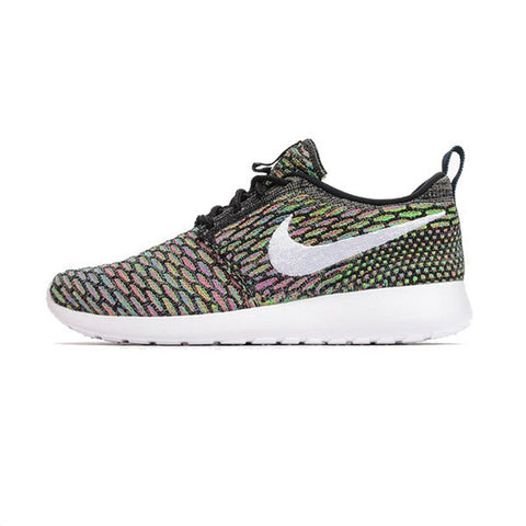 Women's Nike Flyknit Roshe Run Multicolour