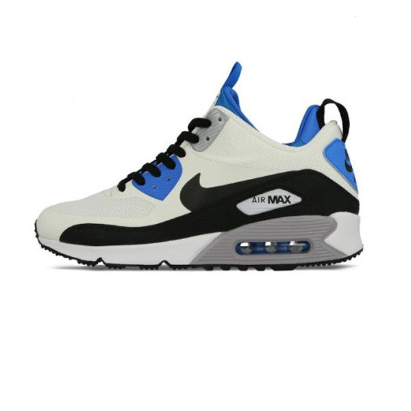 Nike Air Max 90 Sneakerboot White/Black/Blue