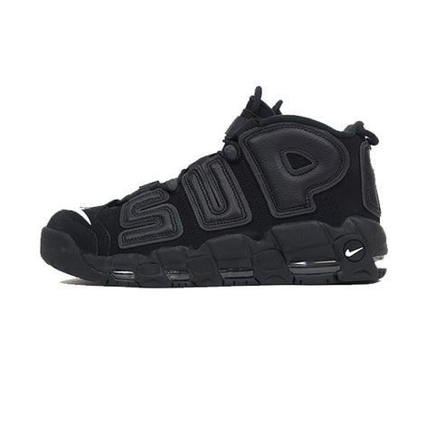 Supreme x Air More Uptempo 'Black'