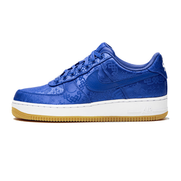 "Air Force 1 Low PRM x CLOT ""Blue Silk"""
