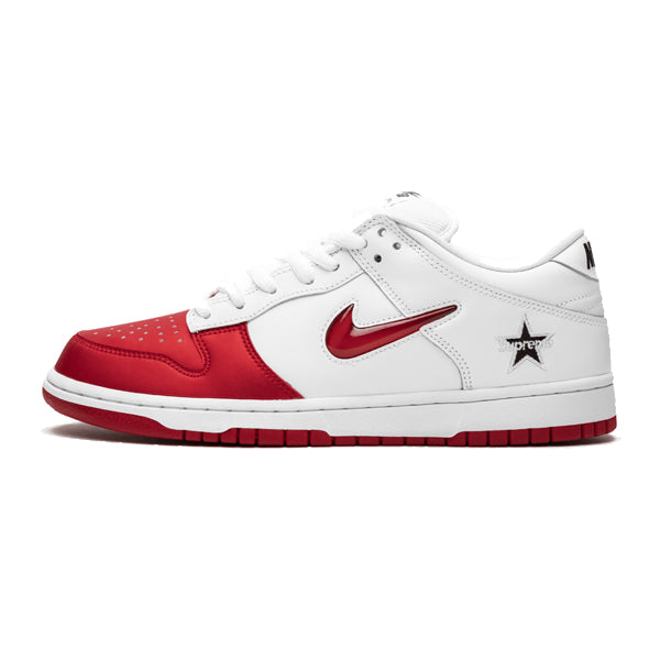 "Nike Dunk SB Low x Supreme ""Varsity Red"""