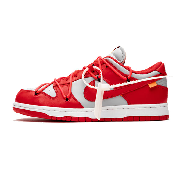 "Nike Dunk Low x Off-White ""University Red"""