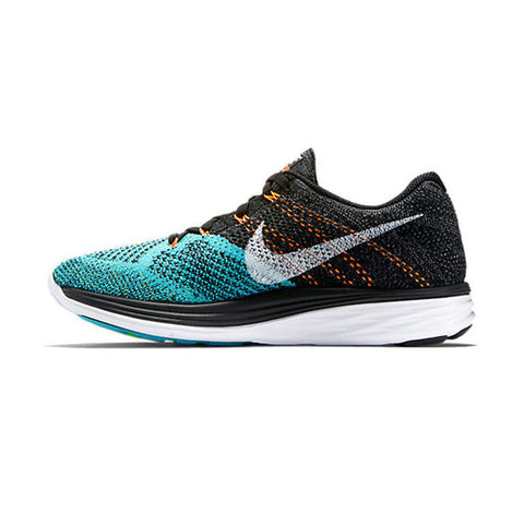 Men's Nike Flyknit Lunar 3 Jade/Black/Orange
