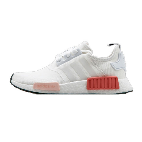 NEW ADIDAS NMD R1 WOMENS TALC/OFF WHITE CREAM S76007