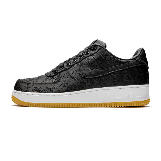 "Air Force 1 Low x Fragment Design x CLOT ""Black Silk"""