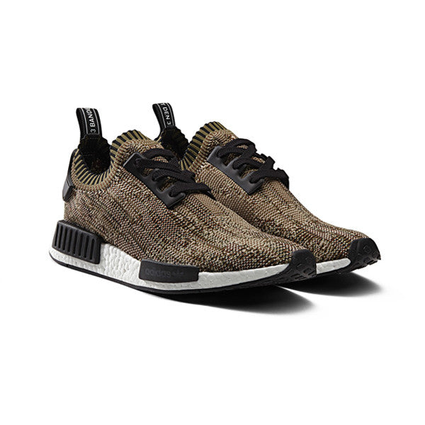"Adidas NMD Primeknit ""Camo"" Pack Olive"