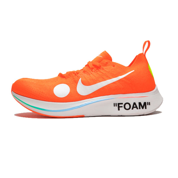 "Nike Zoom Fly Mercurial Flyknit x Off-White ""Total Orange"""