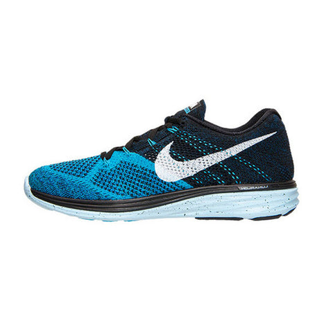 Men's Nike Flyknit Lunar 3 Blue