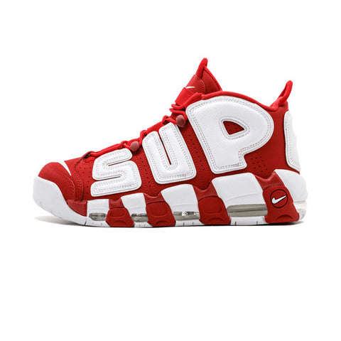 Supreme x Air More Uptempo 'Red'