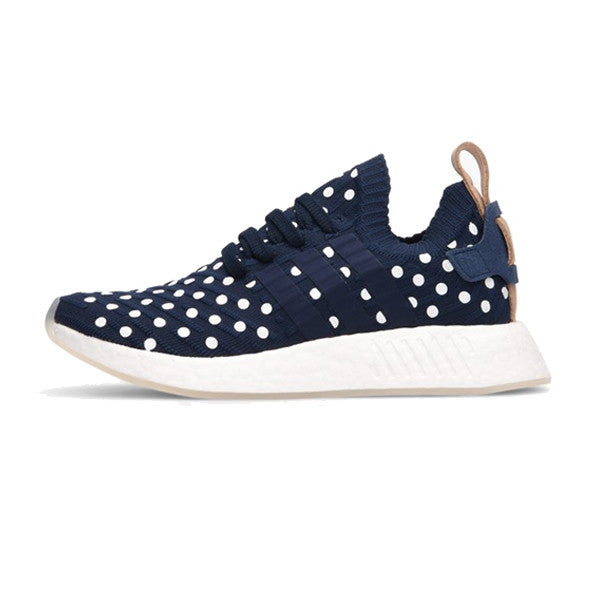 adidas NMD R2 Primeknit White Black BY3015 Release Date