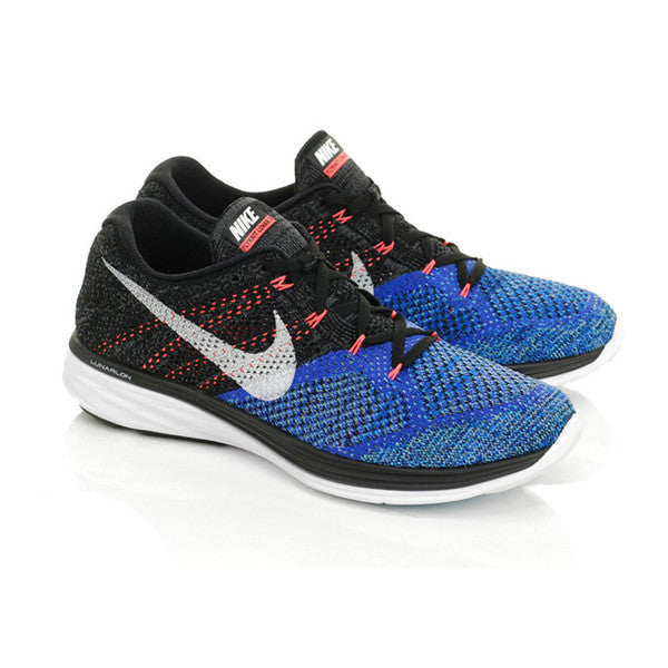 men 39 s nike flyknit lunar 3 violet black lava saints sg. Black Bedroom Furniture Sets. Home Design Ideas