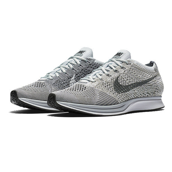 "Nike Flyknit Racer ""PURE PLATINUM/COOL GREY"""