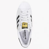 <CNY SALE INSTOCK> Adidas Superstar Casual Shoes Black White Gold