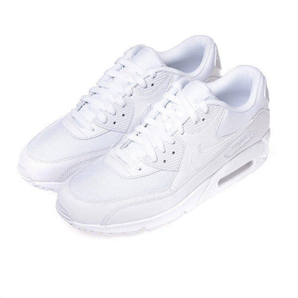 "Nike Air Max 90 Essential Trainers ""White"""