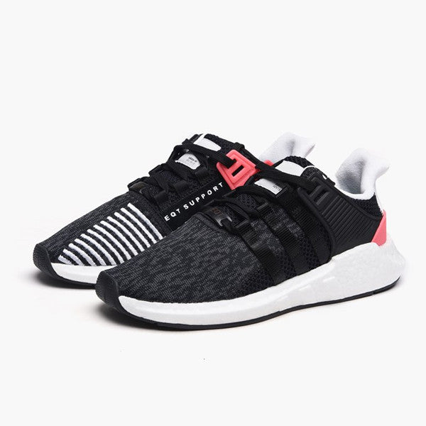 "adidas EQT Support 93/17 ""Core Black Turbo"""