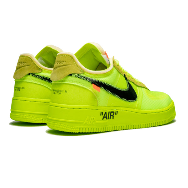 "Nike Air Force 1 Low x Off-White ""Volt"""