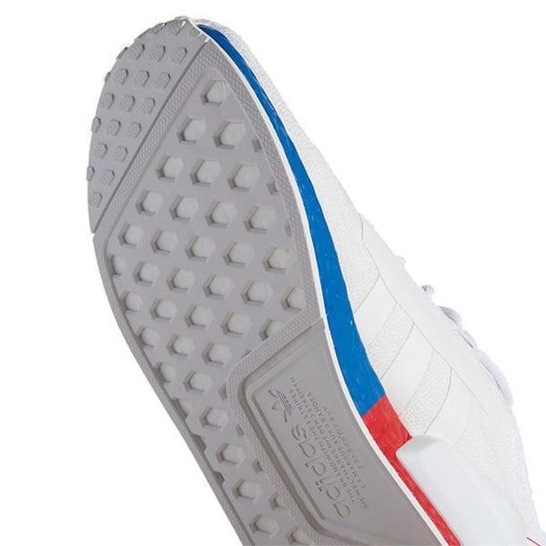 "adidas NMD_R1 V2 ""White Red Blue"""