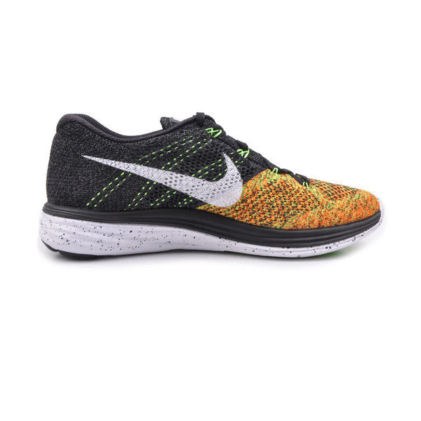 Men's Nike Flyknit Lunar 3 Orange
