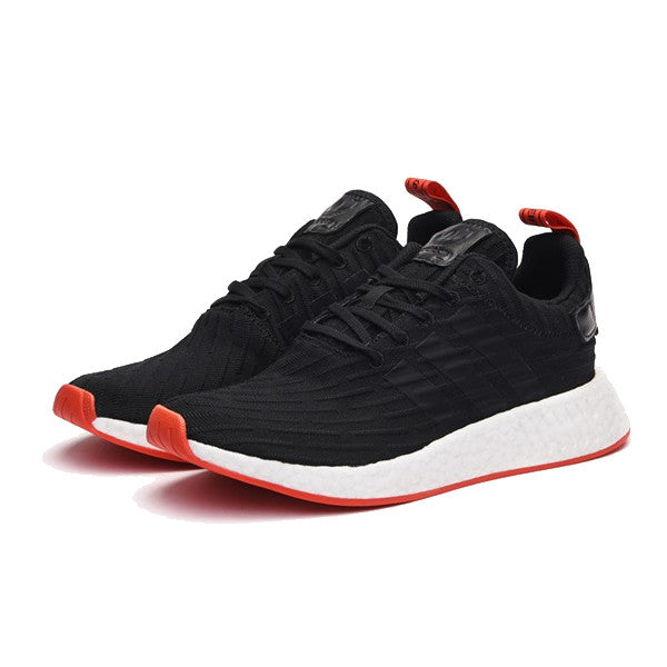 black and red adidas nmd Sale  737a662c63a5