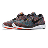 Men's Nike Flyknit Lunar 3 Orange Multicolour