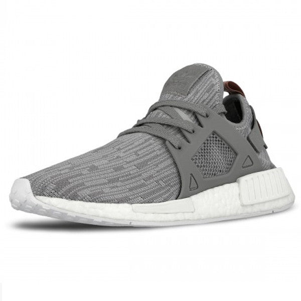 Adidas Men NMD XR1 Primeknit white footwear white core red Bait