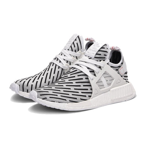 adidas NMD XR1 (BA7233) Duck Camo Pack White Grey USD 115 on