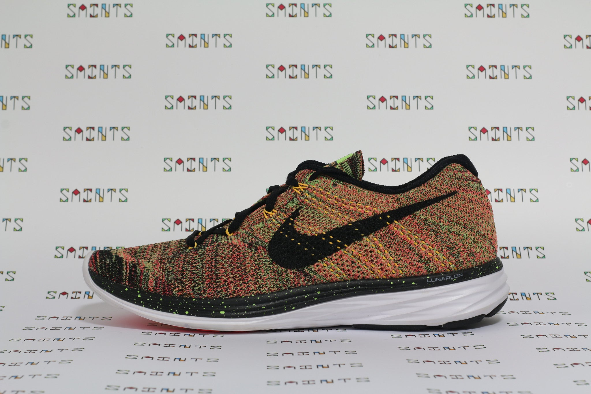 Nike Flyknit Lunar 3 Multicolour (Light Orange)