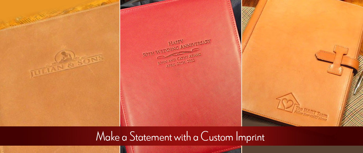 Make a Statement with a Custom Imprint