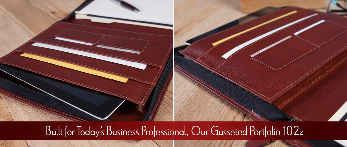 Built for Today's Business Profession, Our Gusseted Portfolio 102z