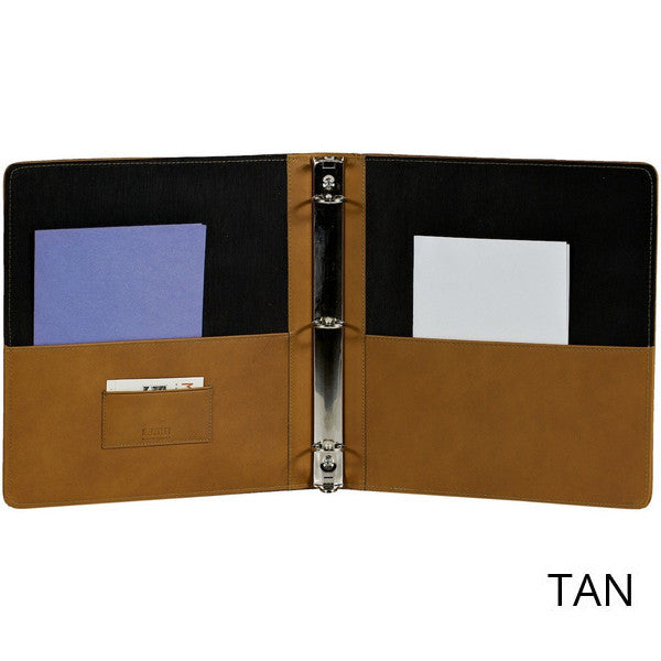 leather ring binders mckinley leather