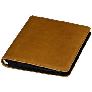 Leather 3 Ring Presenation Binder - Style #130