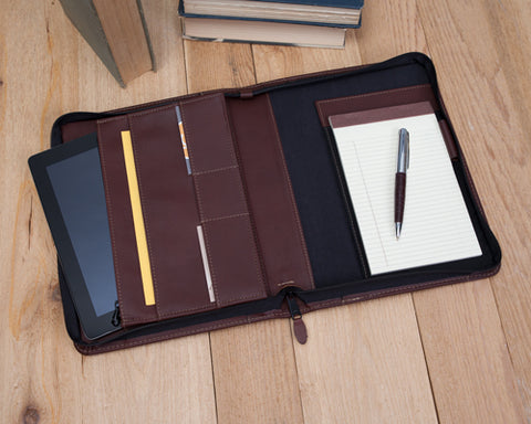 Zippered iPad Organizer – Style #104