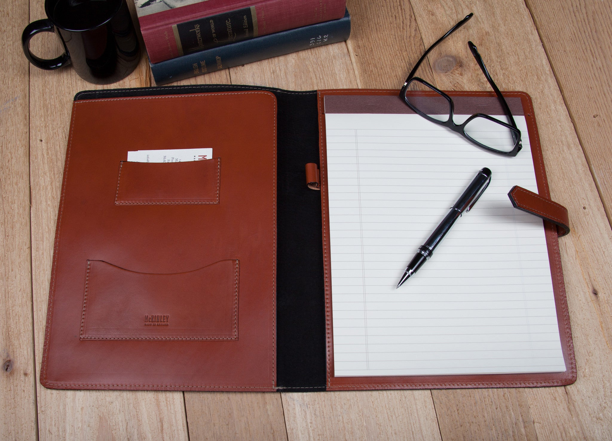 Leather Binders | Personalized Leather Padfolios & Leather