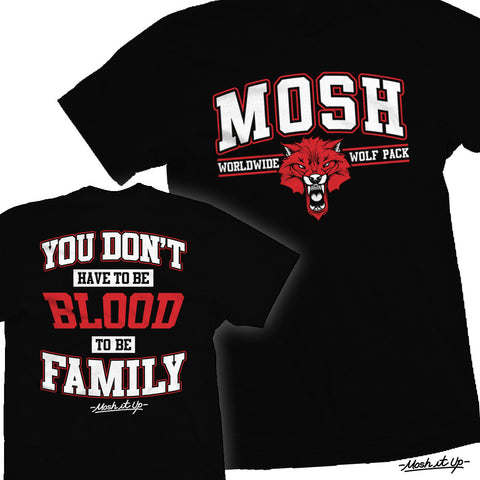 """You Don't Have To Be Blood To Be Family"" Tee"